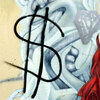 dollar-sign graffiti
