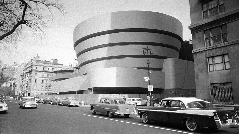 the guggenheim at 50  a legacy spirals on fifth   npr