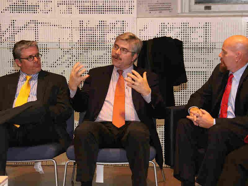 Joseph J. Kolb, John Daniszewski, and Kenn Altine