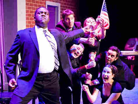 "A performance of ""Barack Stars"""