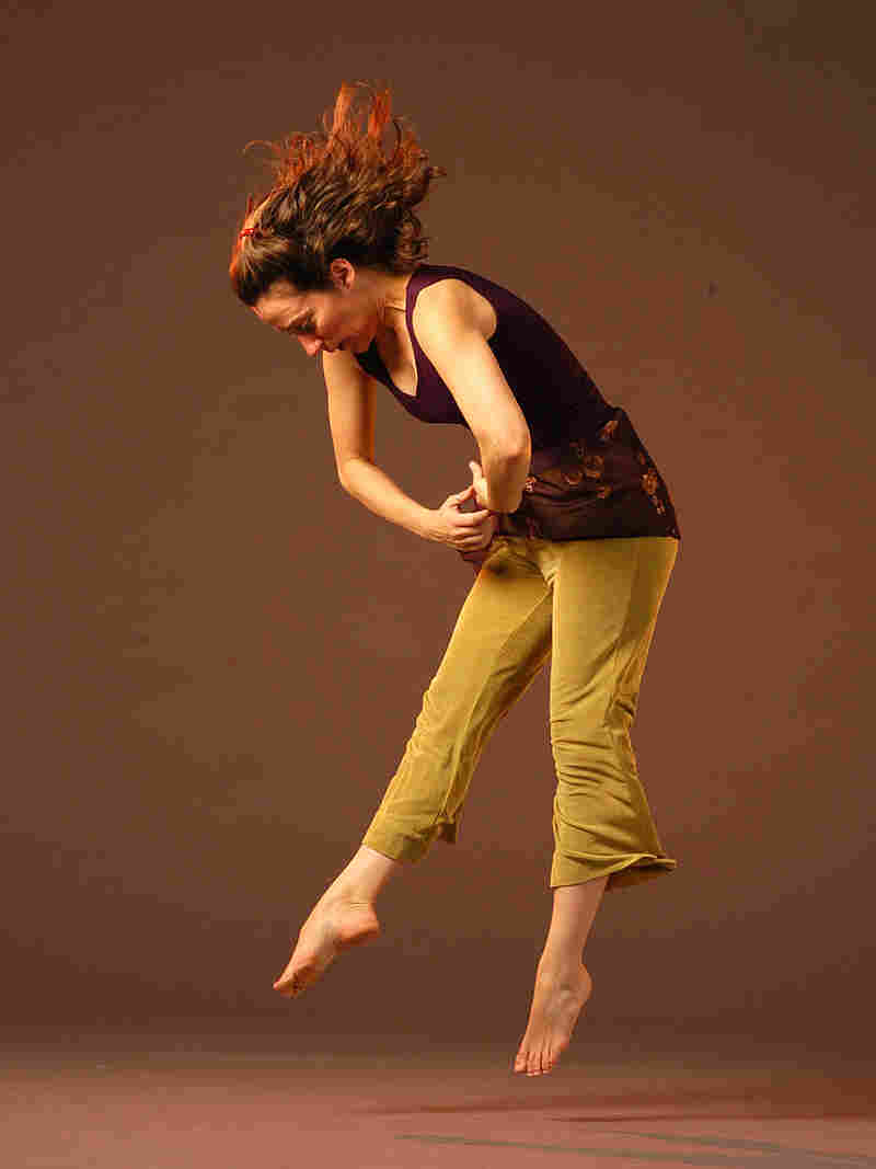 Dancer-choreographer Randee Paufve performs her piece 'In Exhale.' Photo: Marty Sohl