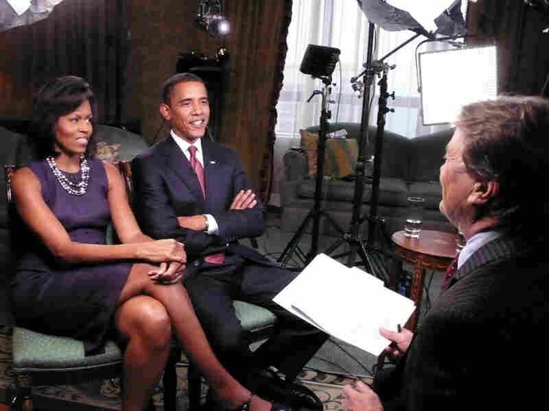 Barack and Michelle Obama appeared on '60 Minutes' in Nov. 2008.