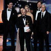 Matthew Weiner and the cast of 'Mad Men' accept the Emmy for Outstanding Drama Series