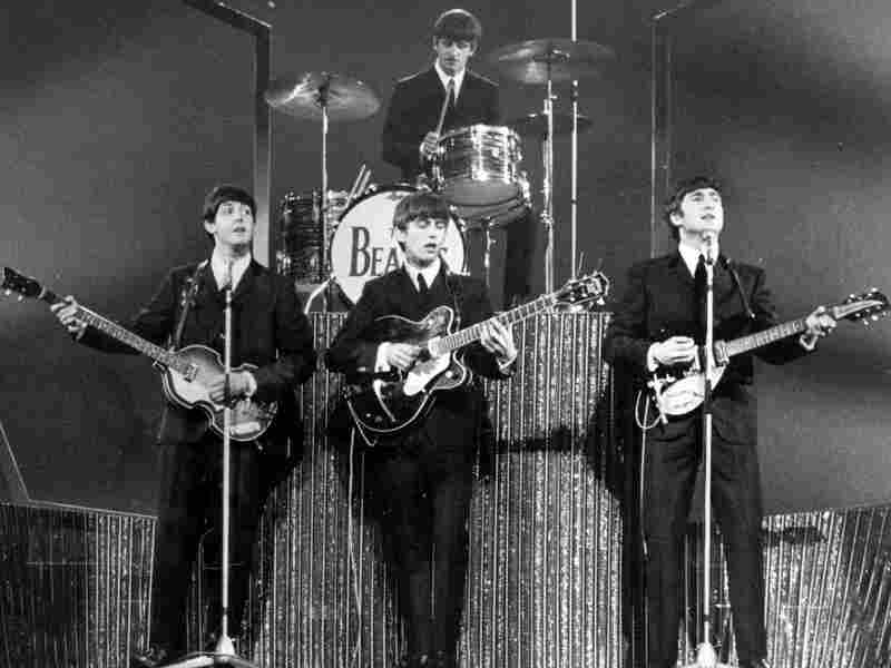 The Beatles at the London Palladium