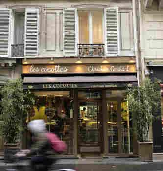 Paris restaurant Les Cocottes