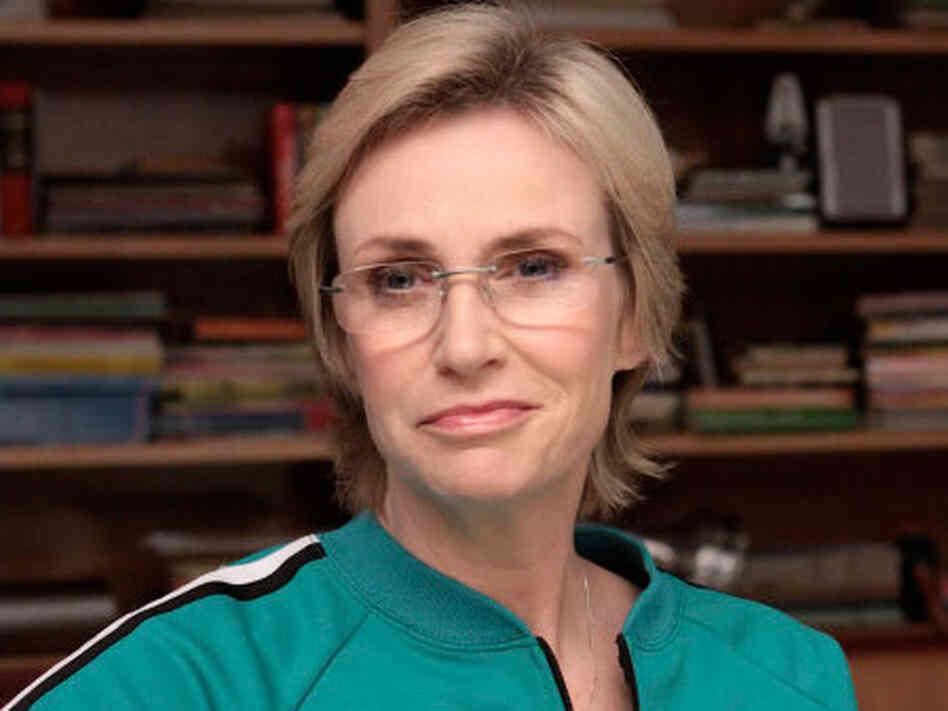 Jane Lynch in 'Glee'