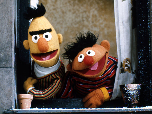 Sesame Street Burt and Ernie