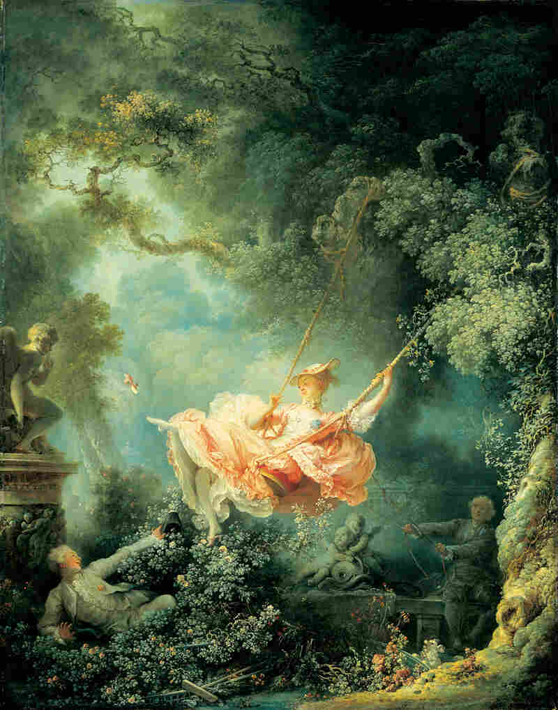 Imprinted Table Cloth Jean-Honore Fragonard's The Swing provided inspiration for one of ...