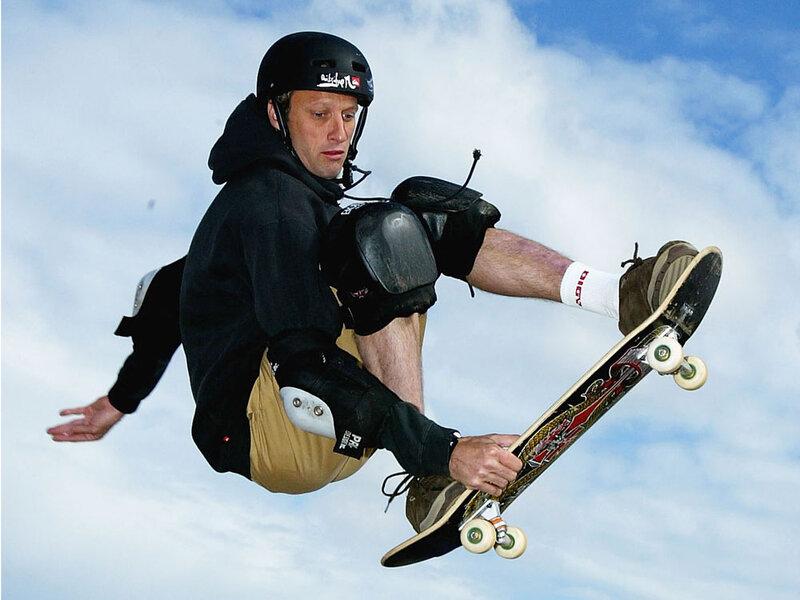 skateboarder tony hawk plays not my job npr
