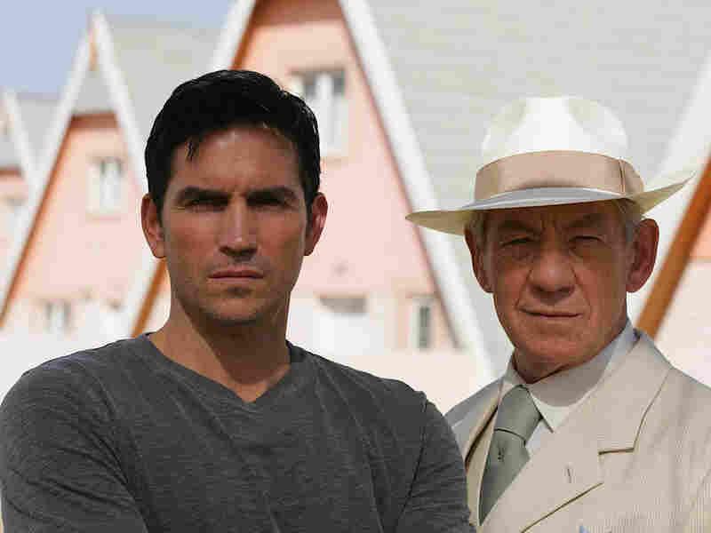 Jim Caviezel and Ian McKellan in AMC's 'The Prisoner'