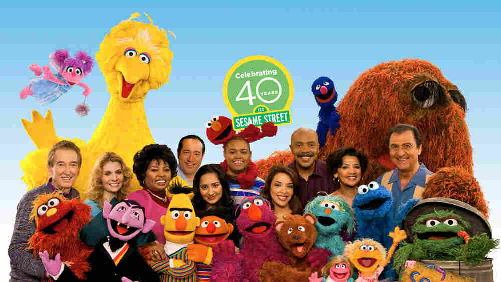 Sesame Street 40th Anniversary Cast