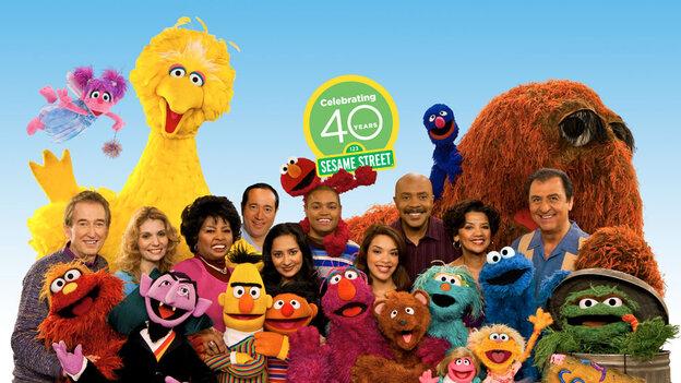 Sesame Street 40th Anniversary Cast