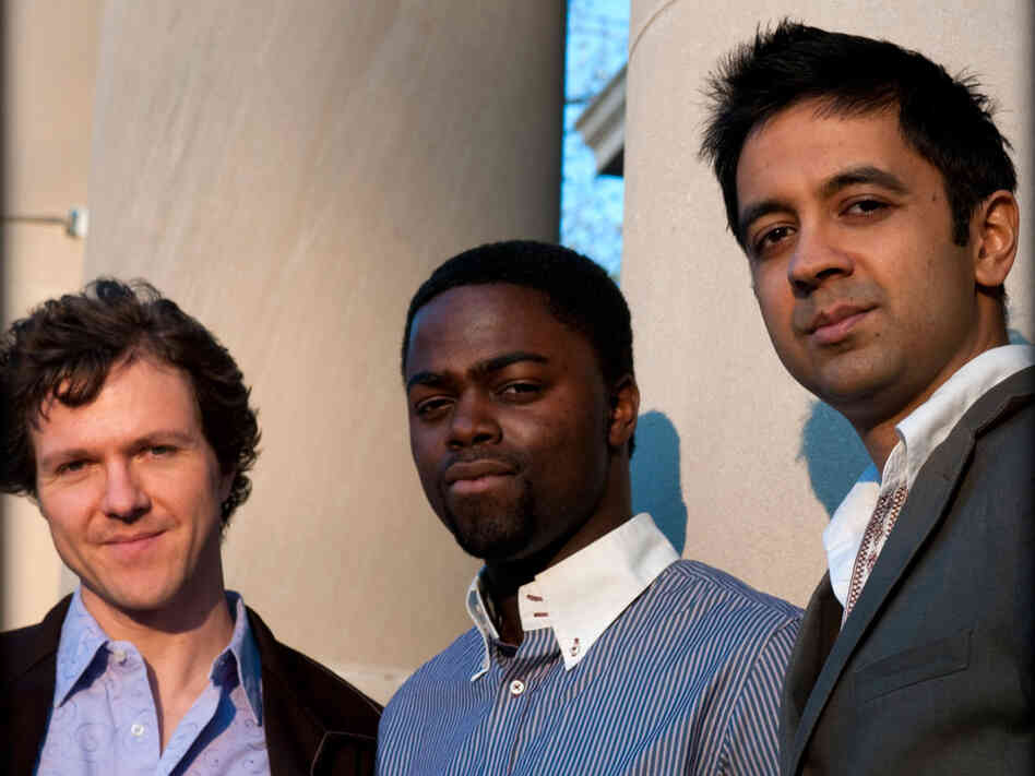 Stephan Crump, Marcus Gilmore, and Vijay Iyer