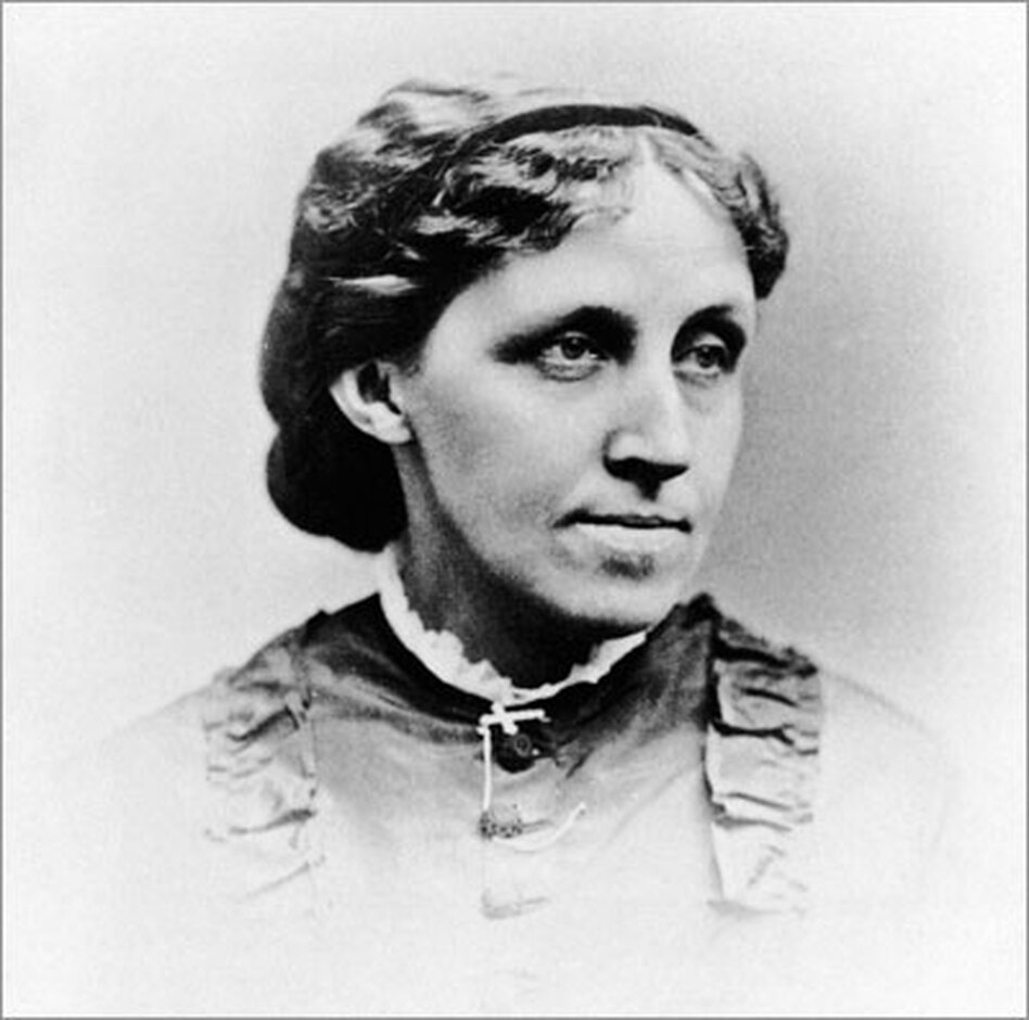 """Though Louisa May Alcott is often associated with the sweetness of her characters in <em>Little Women</em>, she was a tough woman, shaped largely by her experience growing up in poverty.  The beloved writer wrote what she called """"moral pap for the young"""" because it paid well."""