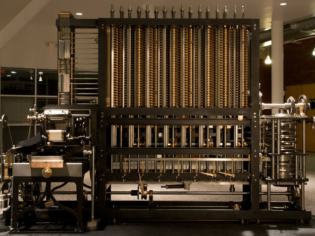 [Interactive:Charles Babbage's 'Difference Engine']