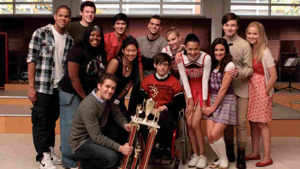 The cast of Fox's Glee.