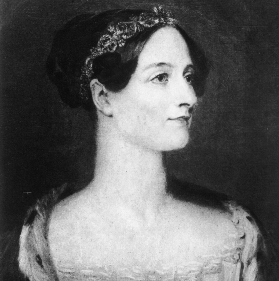Ada Lovelace — considered the mother of computer programming — met Babbage at one of his London soirees.  She helped him put his ideas into writing.