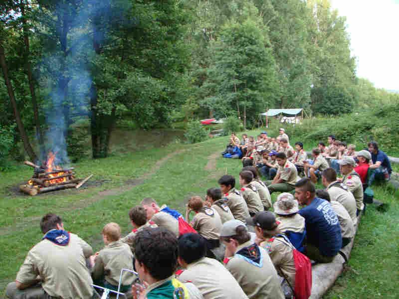 Boy Scouts in Berlin