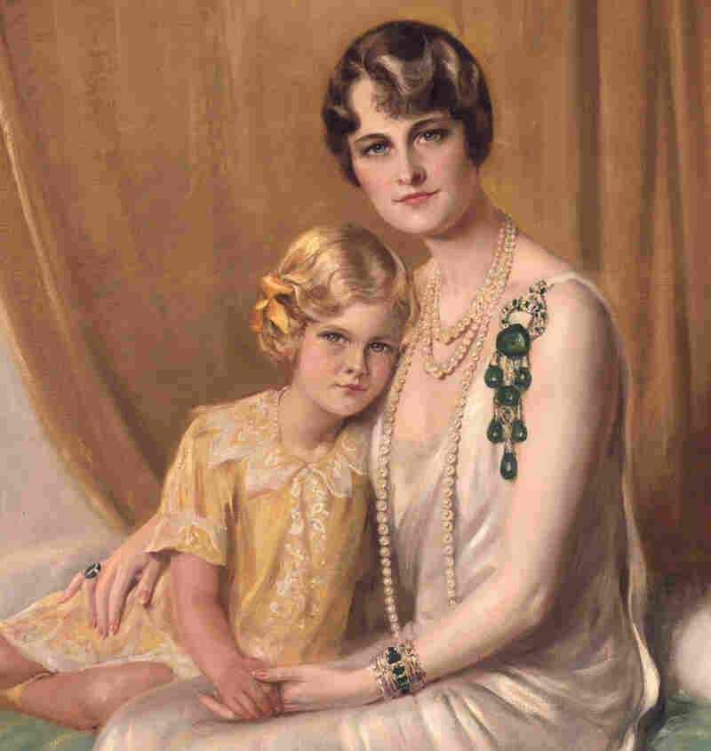 1929 portrait of Marjorie Merriweather Post with her daughter.