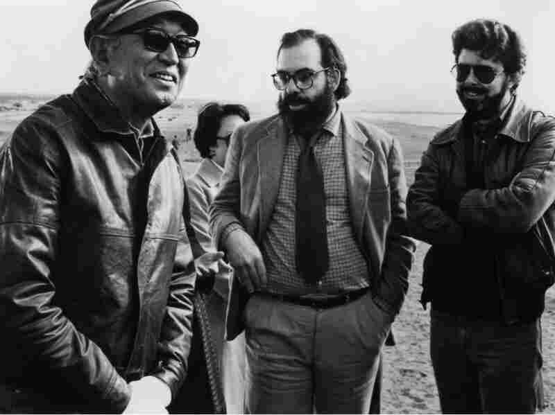 Akira Kurosawa, Francis Ford Coppola, and George Lucas