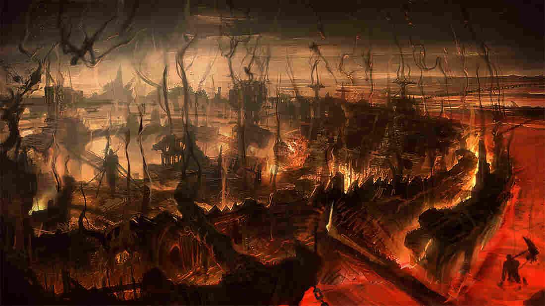 Inferno: Screenshot from 'Dante's Inferno' video game.