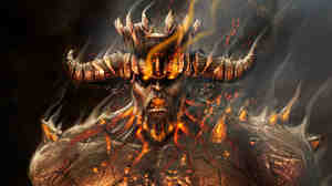 Phlegyas: Screenshot from 'Dante's Inferno' video game.