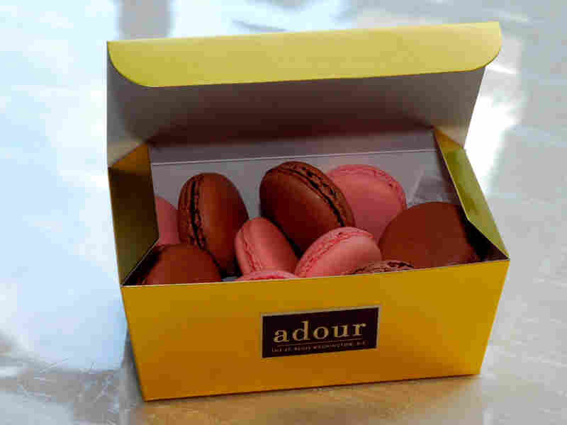 Box of Adour macaroons