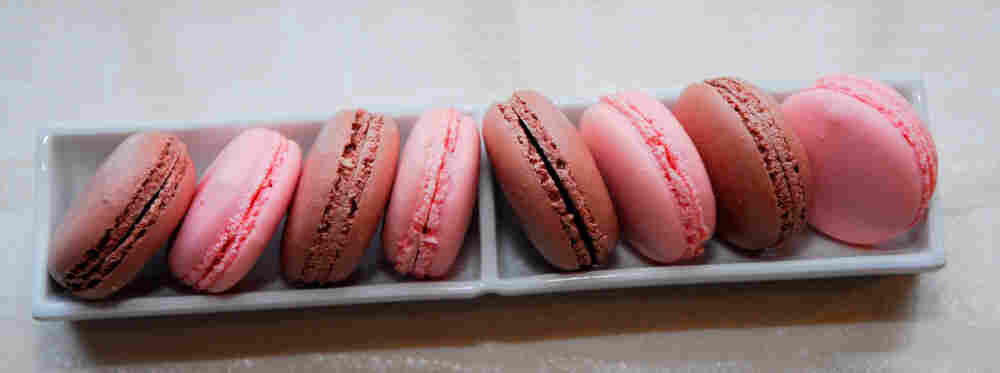 Macaroons from Adour Restaurant