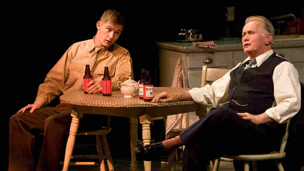 Martin Sheen and Brian Geraghty in 'The Subject Was Roses'