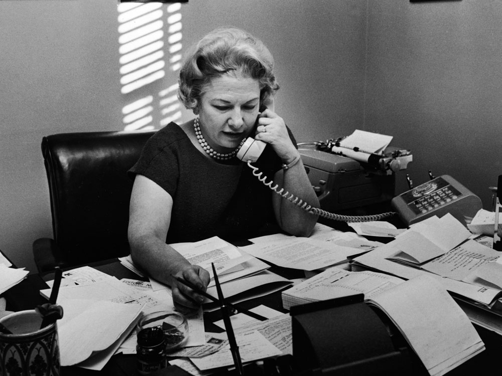 Liz Carpenter worked for the Austin American Statesman before working for LBJ and Lady Bird.