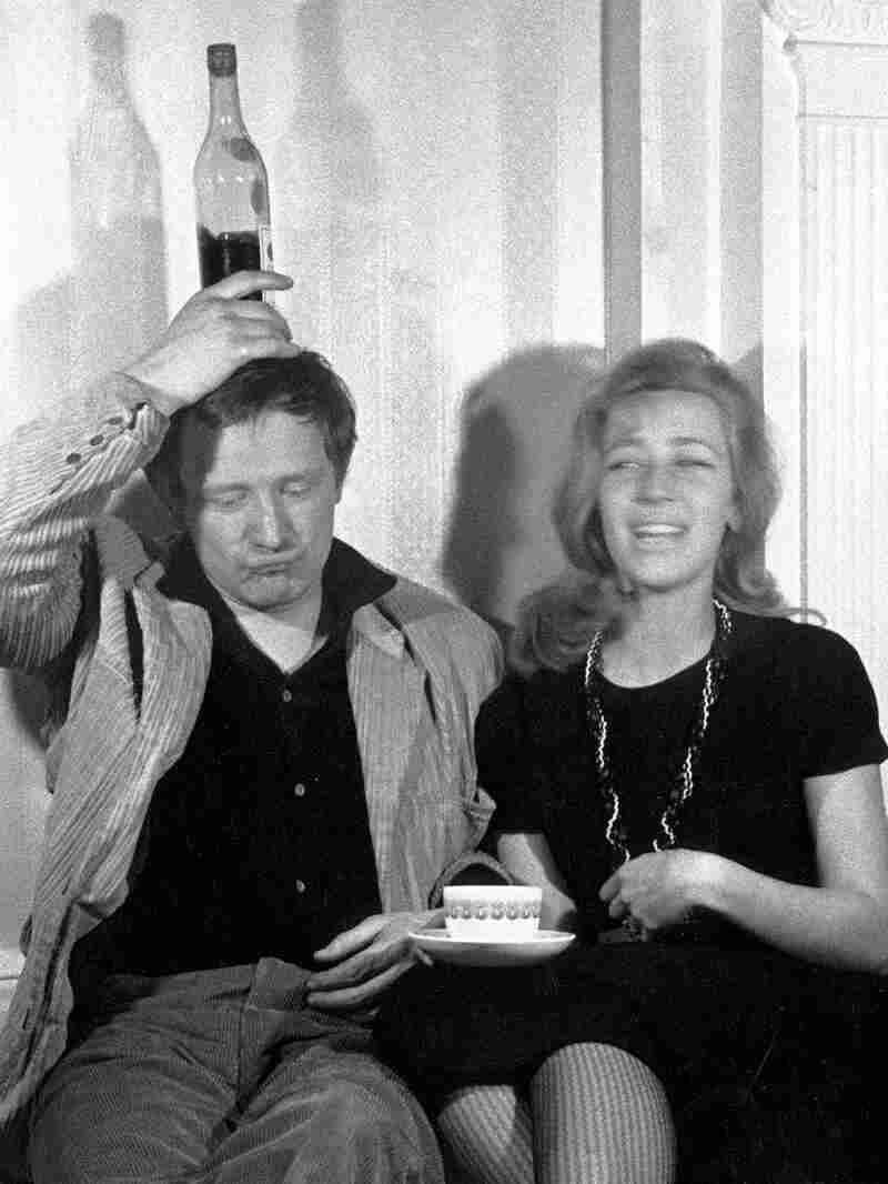 Richard Harris and wife Elizabeth