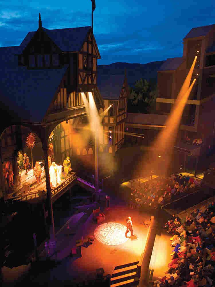 The Oregon Shakespeare Festival's Elizabethan stage