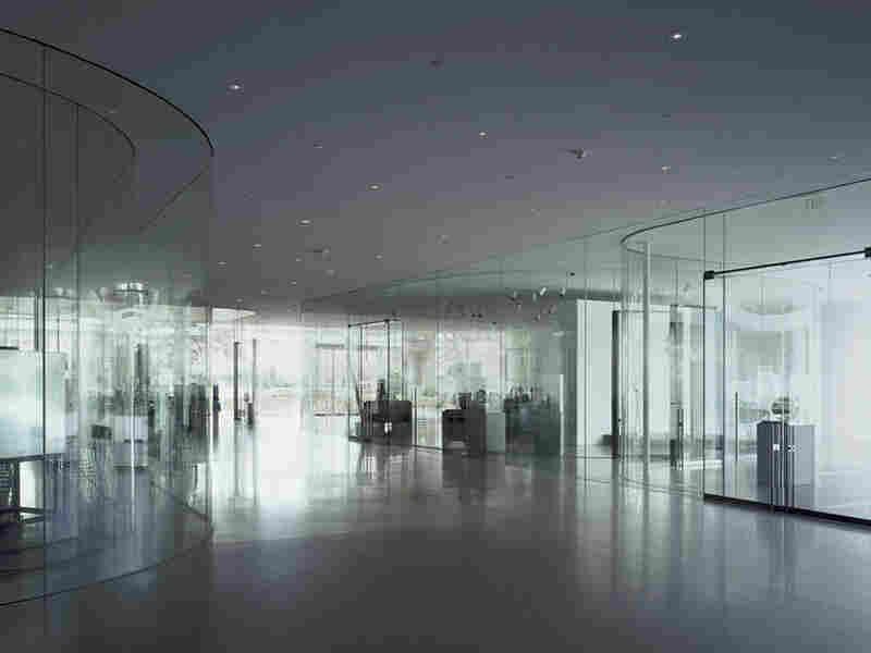 Glass Pavilion for the Toledo, Ohio, Museum of Art.