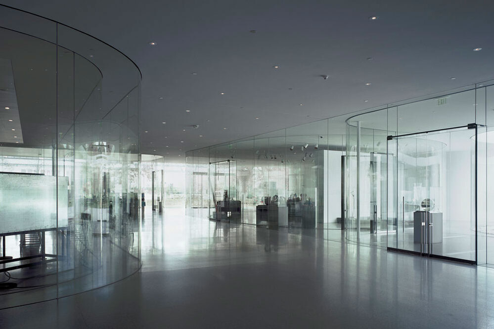 Glass  Pavilion for the Toledo, Ohio, Museum of Art.