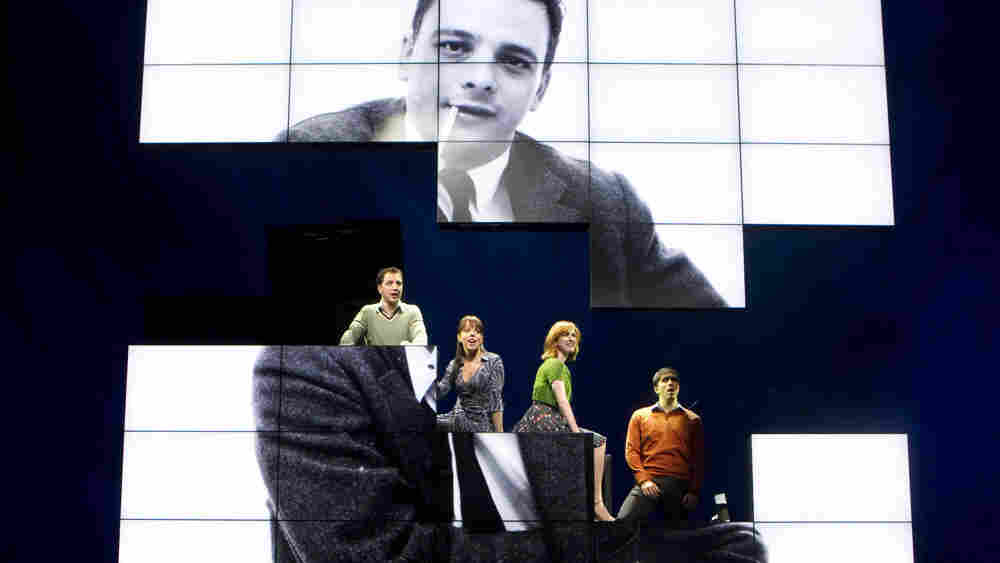 Sondheim on Sondheim Cast: Euan Morton, Leslie Kritzer, Erin Mackey, Matthew Scott