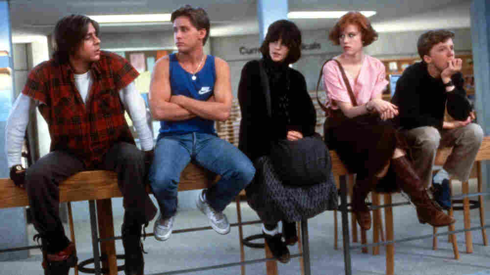 The cast of 'The Breakfast Club'