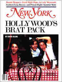 'Brat Pack' Cover of New York Magazine