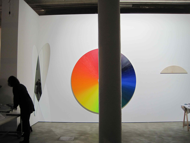 Olafur Eliasson's art studio in Berlin. (for NPR)
