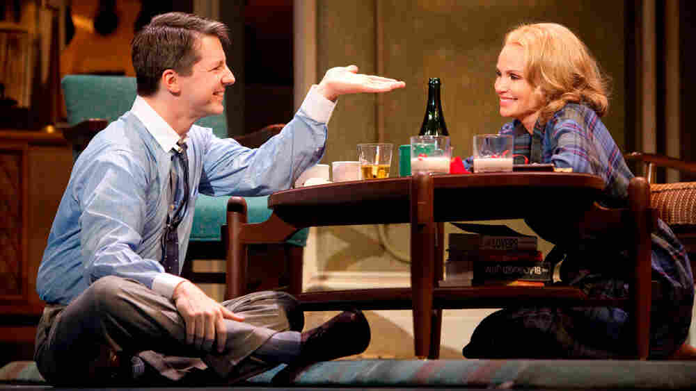 Sean Hayes and Kristin Chenoweth