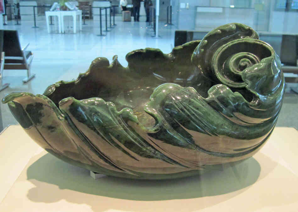 Shell shaped bowl, from Russia