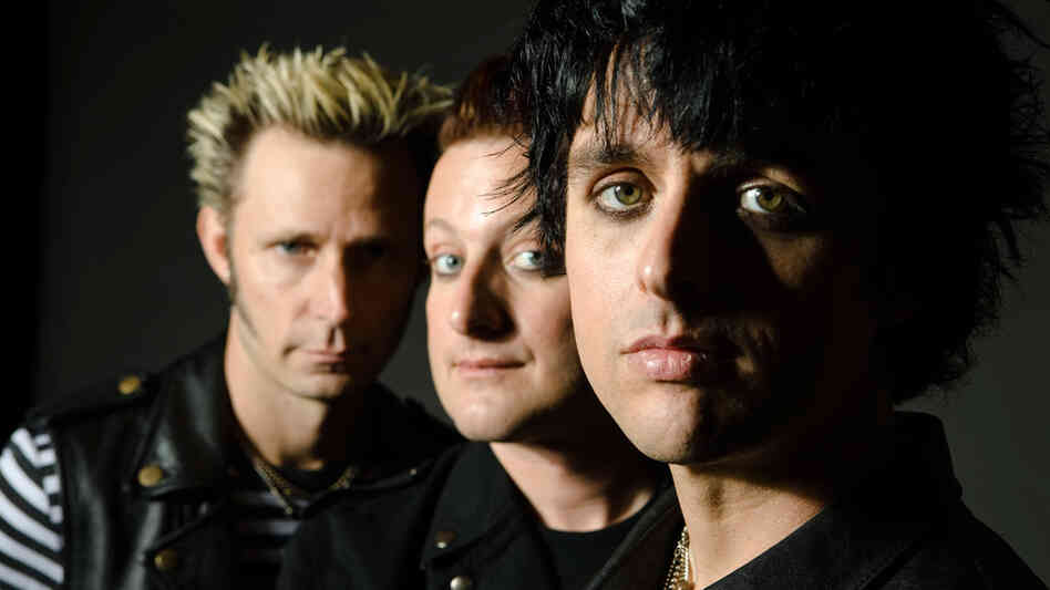 Green Day: Mike Dirnt, Tre Cool, Billie Joe Armstrong