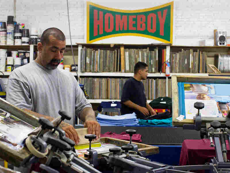 Workers at Homeboy Industries