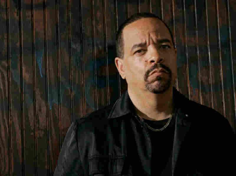 "Ice-T as Odafin ""Fin"" Tutuola"