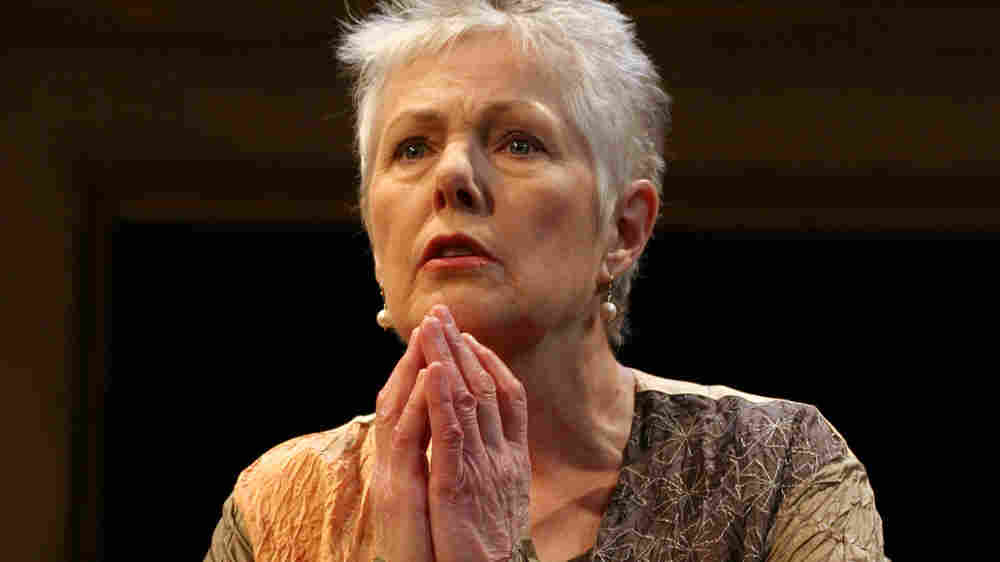 Actress Lynn Redgrave in her one-woman show
