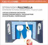 Cover Detail: Stravinsky Pulcinella