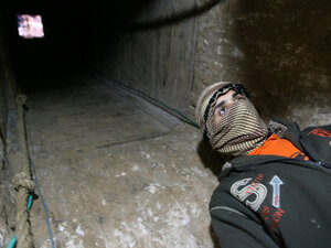 Palestinian tunnel-digger