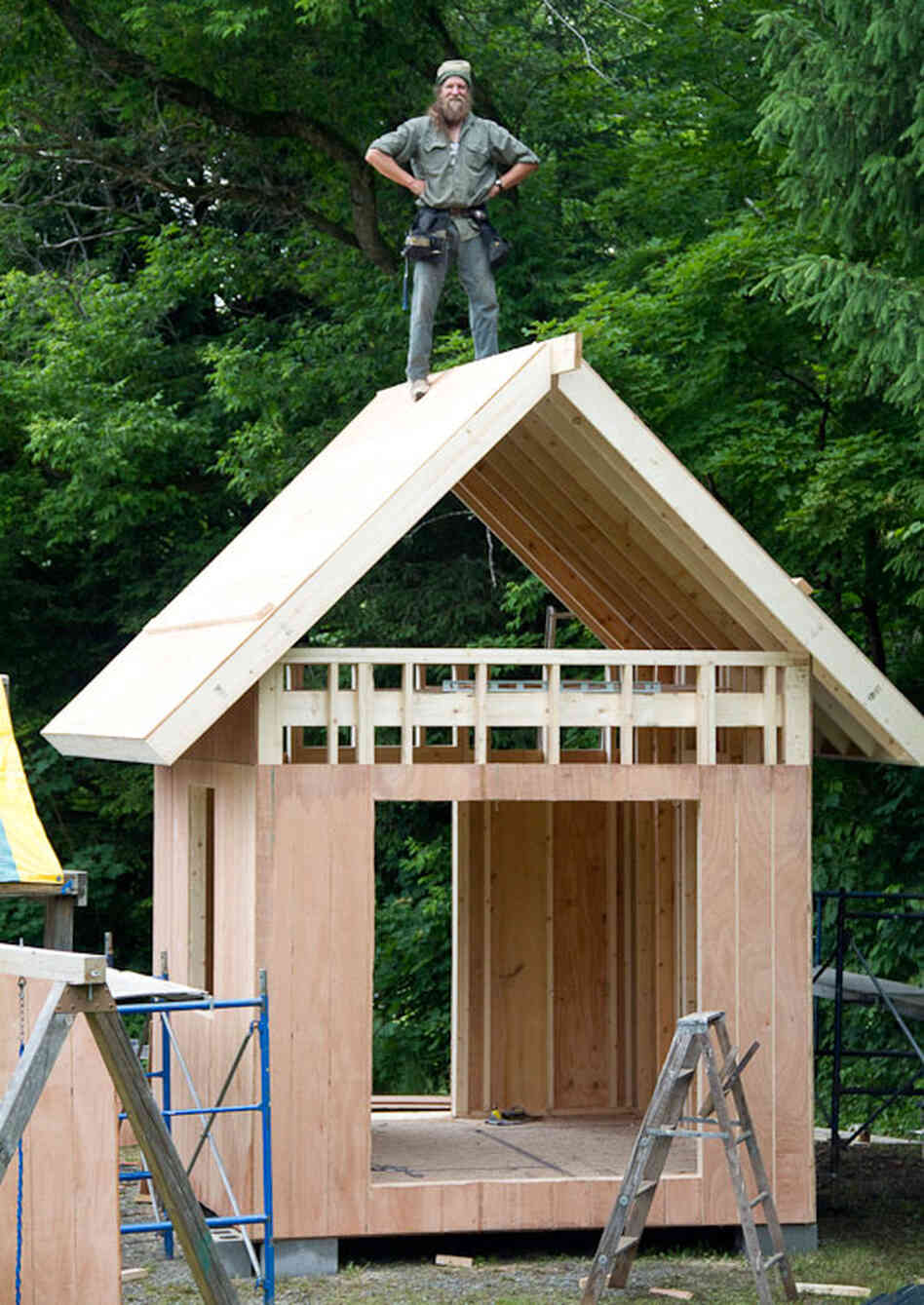 Do It Yourself Downsizing How To Build A Tiny House Npr