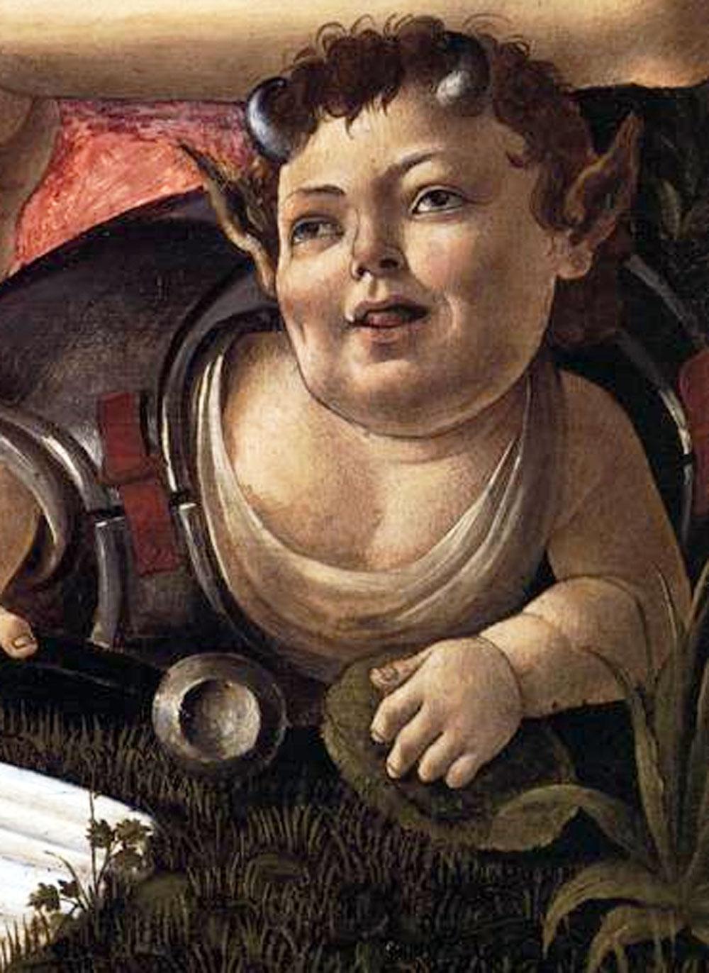 High Art Were Botticelli S Venus And Mars Stoned Npr