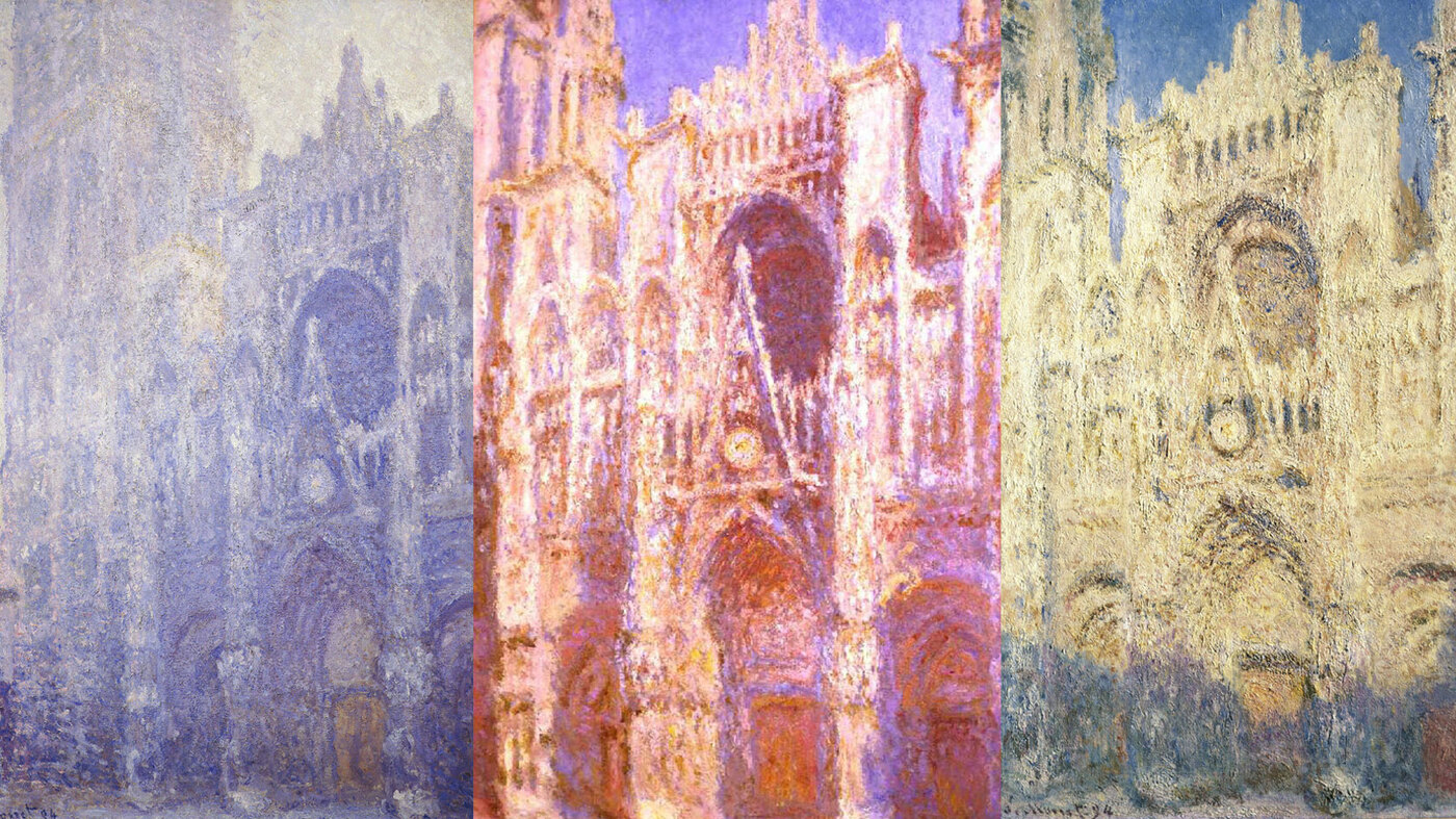 Design A Home Game Monet S Canvas Cathedrals A Life Study Of Light Npr