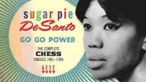 Cover Detail: Go Go Power - Sugar Pie DeSanto